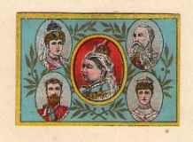 OLD match box labels Royalty Queen Victoria & others #112